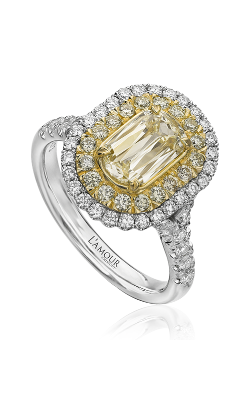 Christopher Designs Engagement ring L124-075YD product image