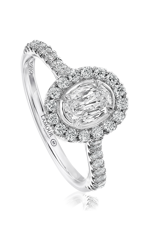 Christopher Designs Engagement ring L501-LOV040 product image